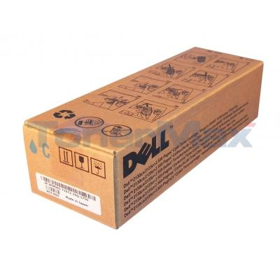 DELL 2130CN TONER CARTRIDGE CYAN 2.5K